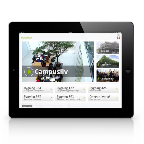 DTU iPad app