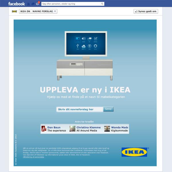IKEA Facebook app