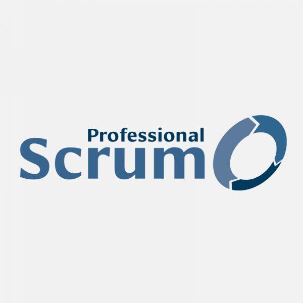 Professional scrum logo